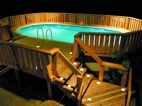 40 uniquely awesome above ground pools with decks ground