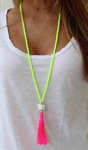 Best 25 Long beaded necklaces ideas on Pinterest