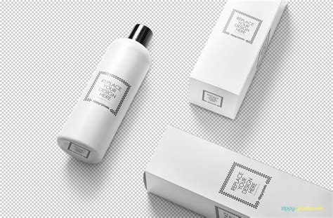 Psd file consists of smart objects. Free Customizable Cosmetic Bottle Mockup - CreativeBooster