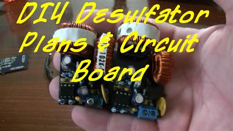 desulfator circuit board   order youtube
