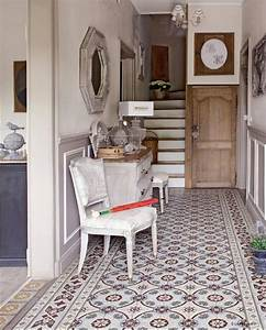 entree carreaux de ciment entree pinterest carrelage With carrelage entrée