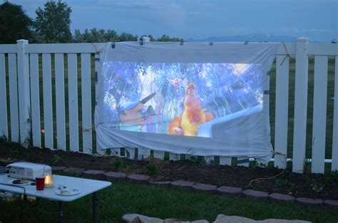 diy portable projector screen  epson projector