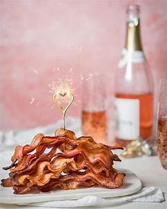 @annewatsonphoto had found the best combo ever- Bubbly and Bacon. Surface: #ericksonsurfaces ...