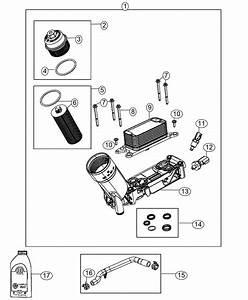 2017 Ram 3500 Filter Kit  Engine Oil  Important 2014 New