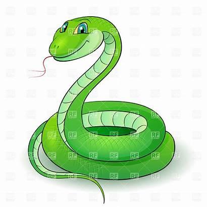 Snake Cartoon Clipart Clip Vector Anaconda Royalty