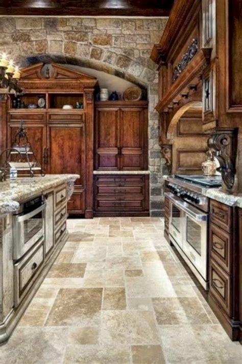 39 beautiful kitchen floor tiles design ideas