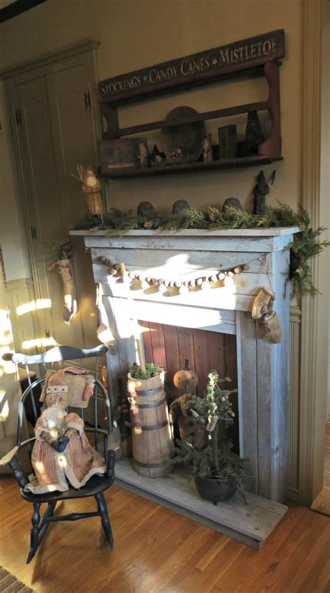Primitive Decorating Ideas For Fireplace by 17 Best Images About Primitive Fireplaces On