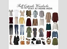 Fall Capsule Wardrobe for the stay at home mom SAHM