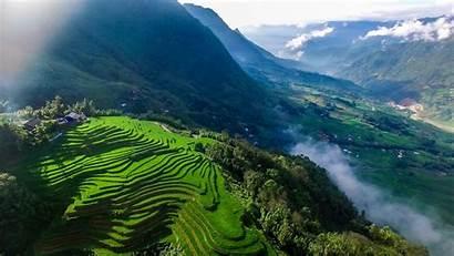 Vietnam Sapa Trekking Place Wallpapers Places Wallpaperplay