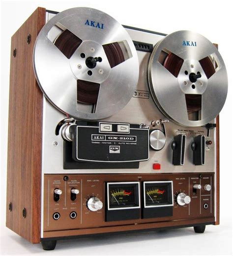 vintage reel  reel tape decks images