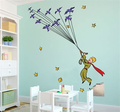 Stickers Chambre Fille Bebe by Little Prince Flying Birds Sticker Tenstickers