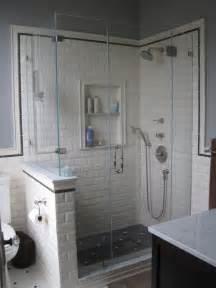 Subway Tile Bathroom Ideas for Showers