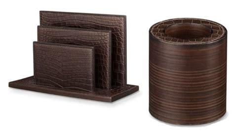accessoires de bureau de luxe herm 232 s une collection d accessoires pour votre bureau luxe net le magazine du luxe