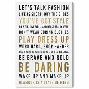 Runway Avenue &... Fashion Glamour Quotes