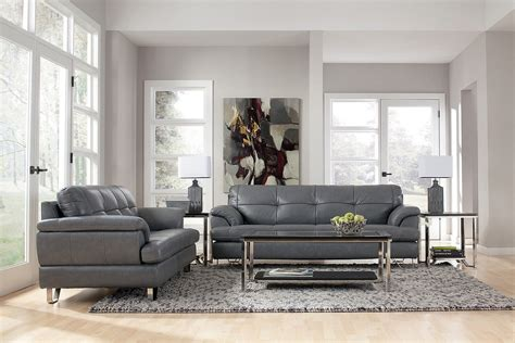 Grey Couch Living Room Decorating Ideas - HomeStyleDiary.com