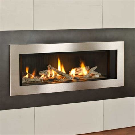 linear gas fireplace l2 series 46 quot linear gas fireplace superior