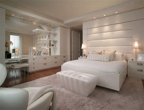Elegant White Bedroom Design Ideas-style Motivation