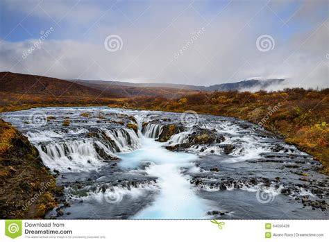 Bruarfoss In Iceland The Mystery Of The Blue Waterfall