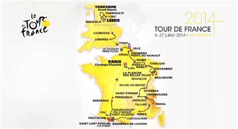 jeux de cuisine de luxe le parcours du tour de 2014 la carte