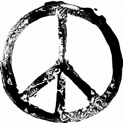 Peace Symbol Grunge Transparent Stamp 2021 Onlygfx