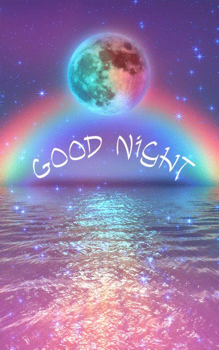 magical good night animated quotes