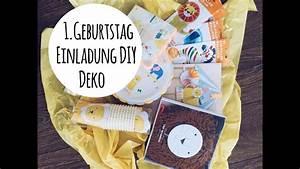 Deko Für 1 Geburtstag : vorbereitung f r den 1 geburtstag einladung diy und deko youtube ~ Buech-reservation.com Haus und Dekorationen