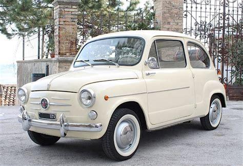 Fiat 600d by Fiat 600 D I Serie Auto D Epoca Anni 60 Con Curiosit 224