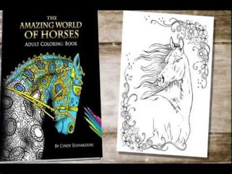 amazing world of horses adult coloring book 173 best images about horse lovers coloring books on