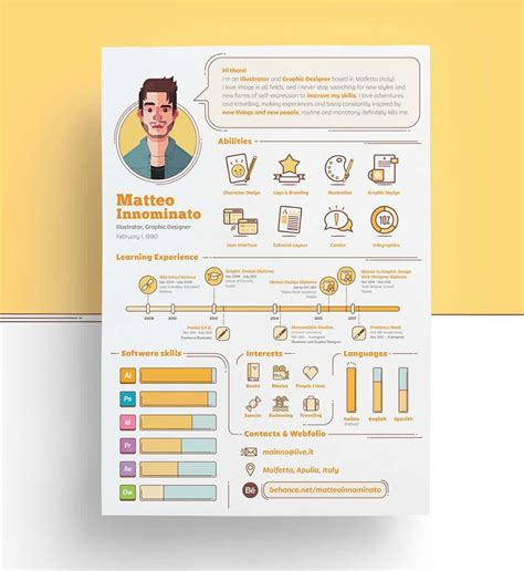 creative resume templates  examples   guide