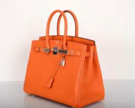 hermes designer hermes birkin bag orange classic gorgeous epsom leather janefinds at 1stdibs