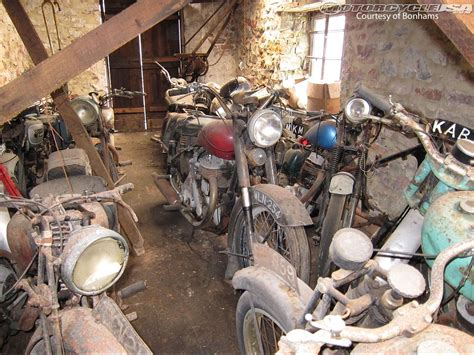Bonhams Auctioning 50 Barn Find Discoveries
