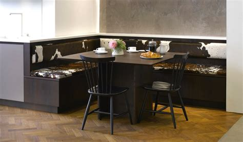 roundhouse banquette style seating a solution to modern