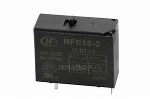 2pcs Hf Relay Hfe10 2 12 Ht L2 277v 50a Relay 5 Pin Relay