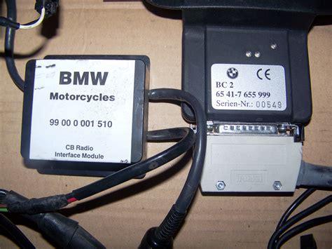 Bmw K1200lt Communication System