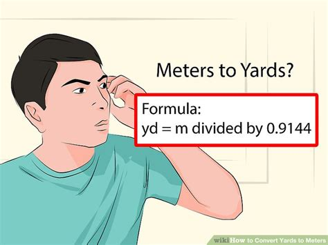 How To Convert Yards To Meters (with Unit Converter) Wikihow