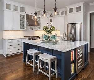 60, Beautiful, Kitchen, Island, Design, Ideas