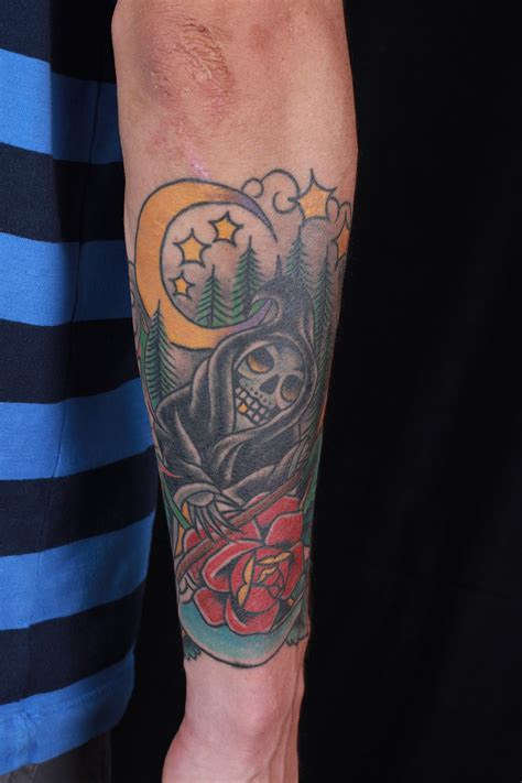 haley mcmahon dedication tattoo