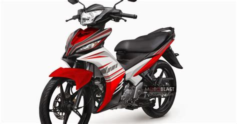 Modif Jupiter Mx Warna Merah modifikasi motor jupiter mx warna merah marun