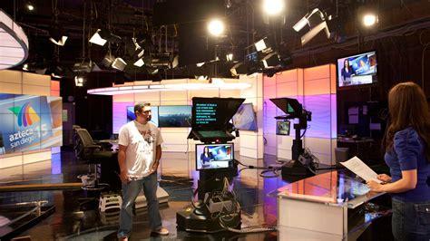 building a studio news set designs by park place studio design build and