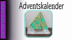 Adventskalender Aus Klopapierrollen : adventskalender tannenbaum klopapierrollen bastelanleitung von homebackde youtube ~ Watch28wear.com Haus und Dekorationen