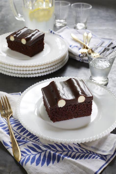 chocolate bumpy cake kitchn