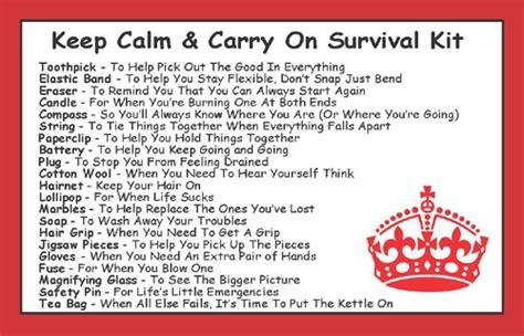 calm carry  survival kit