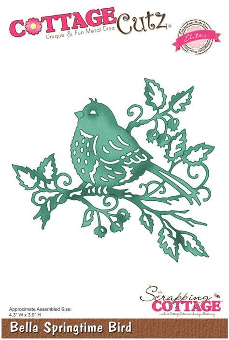 cottage cutz dies cottage cutz dies springtime bird