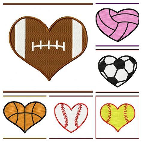 Heart Shaped Football Clip Art