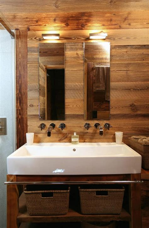 salle de bain en bois le bois habille la salle de bain floriane lemari 233