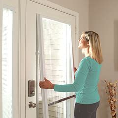 trouble free blinds odl add on enclosed blinds for entry doors patio doors