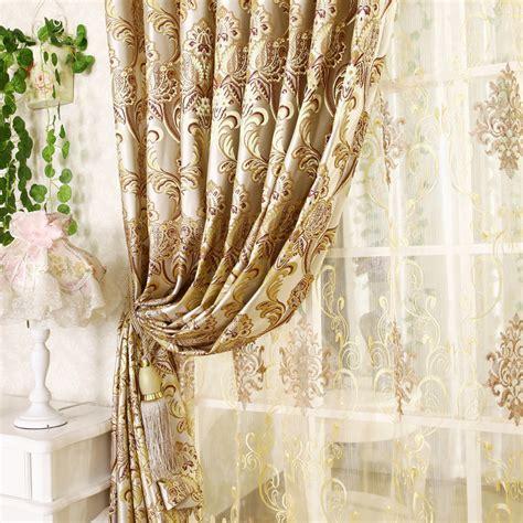 livingroom valances aliexpress compre qualidade moda jacquard cortina de