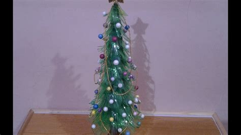 best out of waste plastic bottles christmas tree youtube