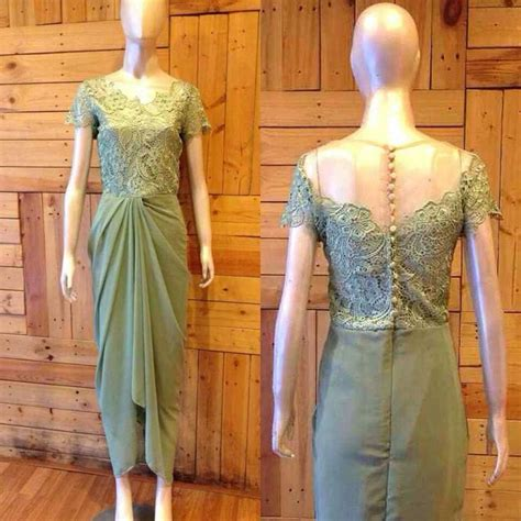 pin oleh   lace kebaya dress kebaya lace