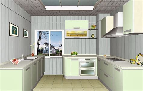 Even a slight shade darker or lighter will create a wonderful effect. ceiling design ideas for small kitchen - 15 designs